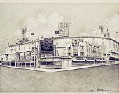 Detroit / Architectural drawings of landmarks in and around Detroit