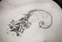 Sequência Fibonacci tatoo