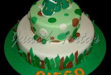 tortas decoradas con dinosaurios