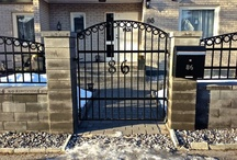 Iron Gates Made By Edlund Smide