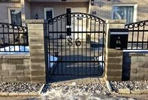 Iron Gates Made By Edlund Smide
