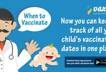 When to vaccinate / Now you can keep a track of all your child's vaccination dates in one place!
