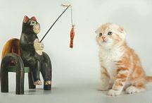 Postcrossing: cats / Ontvangen Postcrossingkaarten van katten