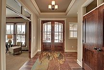 New house entry way