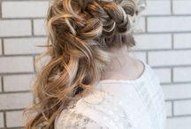 Hair to wedding