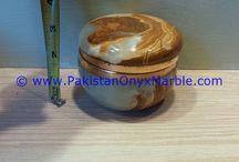 ONYX JEWELRY BOXES ROUND MULTI BROWN ONYX TRINKET DECORATIVE NATURAL STONE
