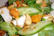 Scintillating Salads and Vegetables / Salad and vegetable recipes that I like to eat.