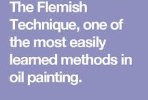 Flemish Painting & Techniques