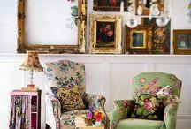 Vintage room decor
