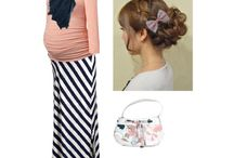 cute preggo clothes / by Traci Martin