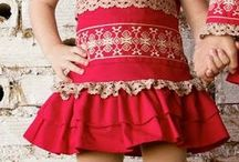 Christmas toddler girls dresses