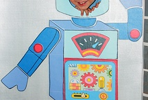 Party / Playdate themed ideas - Robot & Rocket