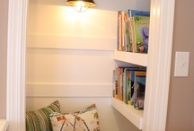closet/reading nook / by Megan Vickery