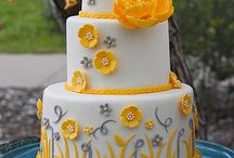 color YELLOW / #sugarcraft#party#coler#cake#wededing#weddingcake#annivery#シュガークラフト#ウェディングケーキ#パーティー