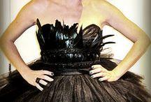 Black swan hens