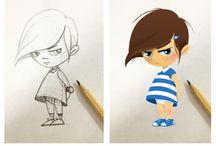 Illustrations - enfants