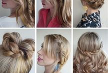 hair/fashion / by Lindsay Weirich