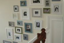 Picture frame ideas / by Betsy Kornelis