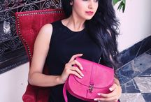 Leather Bags / What about adding a colorful and funky Moroccan touch to your outfit?