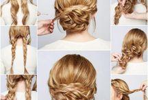 Styles de cheveux en chignon