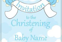 Invite Monkey Christening Invitations