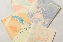 Marbling / Marbling is an amazing arty trend that creates gorgeous multi-coloured, swirly patterns. You simply pour your paints in your desired pattern into water and lay your paper/fabric/other materials on top of the paint to create this quirky designs.