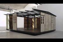 Architectures démontables / assemblages