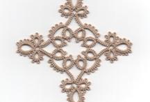 tatting frivolite frywolitka cross
