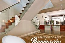 Lustres para casa Dinamica ILuminacion no Paraguai! / Veja + Inspirações e Dicas de decoração no blog!  www.construindominhacasaclean.com