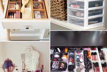 Toiletry & Make up Storage. ♥
