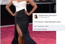 My Review of Oscar Fashion 2013 / by Bridgette Raes