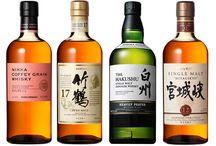 Japanese Whisky / Japanese single malt, Nikka, Akashi, Yamazaki, Suntory, Hibiki, Hakushu.