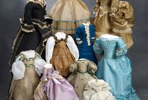 """""""What Finespun Threads"""" - March 12, 2017 / March 12, 2017 at the Hyatt Regency Coconut Resort, Naples, FL. 9AM Preview. 11AM Auction. Several hundred wonderful antique doll costumes from 1840-1925, including fashion gowns, bébé dresses, character doll costumes, shoes and accessories are featured in this fabulous collection. Absentee bid, live telephone bidding and live internet bidding is welcome. For info call 800-638-0422. View online https://theriaults.proxibid.com"""