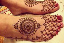 Mehandi Feet