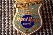 Hard Rock Pins / Hard Rock Cafe, Hotel, Casino Pins