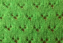 Knit structure & stitches