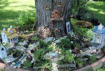 Fairy garden / Fairy garden ideas