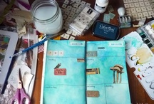 Art journaling / by Beckii Cooper