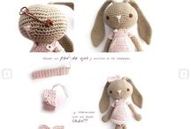 Crocheting/ knitting