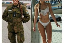 Damer i uniform