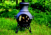 "The Blue Rooster Etruscan Chiminea / The Etruscan Style Chiminea is the perfect little foot warmer on a chilly day. The simple, classic design of the Etruscan chiminea blends with any outdoor decor. This compact little chiminea handles up to 12"" fire logs and has an adjustable door on the bottom to adjust airflow. The mouth screen provides safety while allowing easy access for adding wood and roasting marshmallows. The Blue Rooster recommends the Charcoal color because of its lasting qualities in a high heat wood burning fireplace"