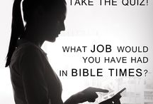 Bible Quizzes / Test you Bible knowledge, find out what your job would be in Bible times, and so much more with our fun and sometimes challenging quizzes.