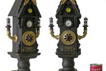Clocks / I like sculptural and clocks and artists who make them.