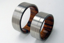 rings wood women
