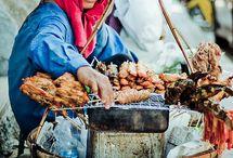 street food. / celebrating cuisines around the world through street food.