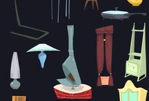 Props Design,Icons, Game Elements