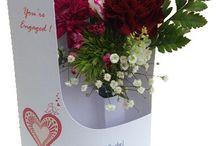 Engagement Flower Cards