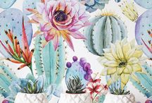 Southwest Cactus & Tribal Nursery Ideas