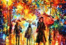 My paintings / My website afremov.com | Use 15% discount coupon - GeraSU15  / by Leonid Afremov Official