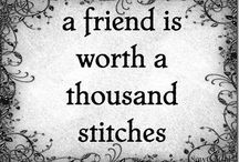 Quilting Quotes / Have a giggle, share some wisdom, get inspired